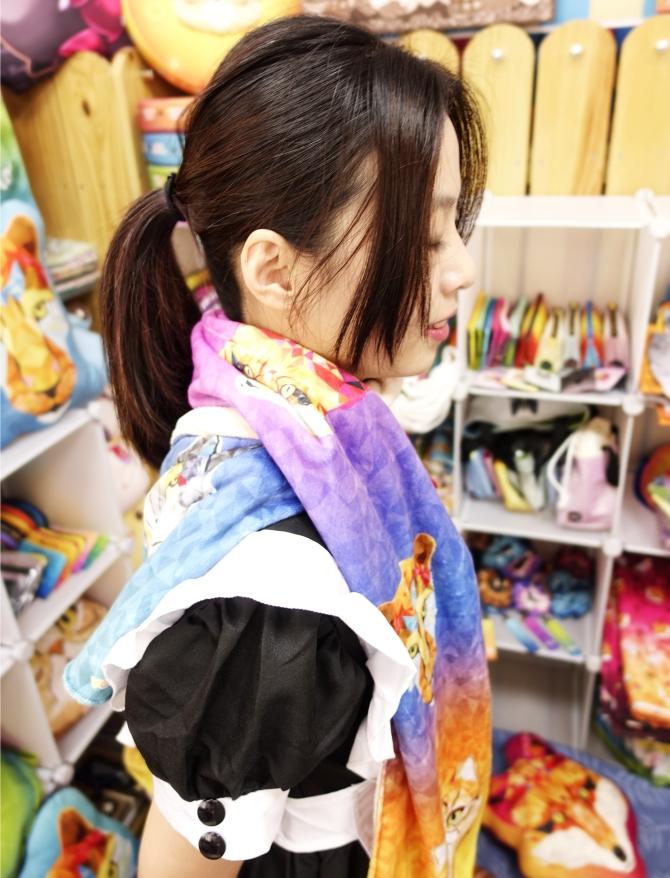 圍巾-LEO改